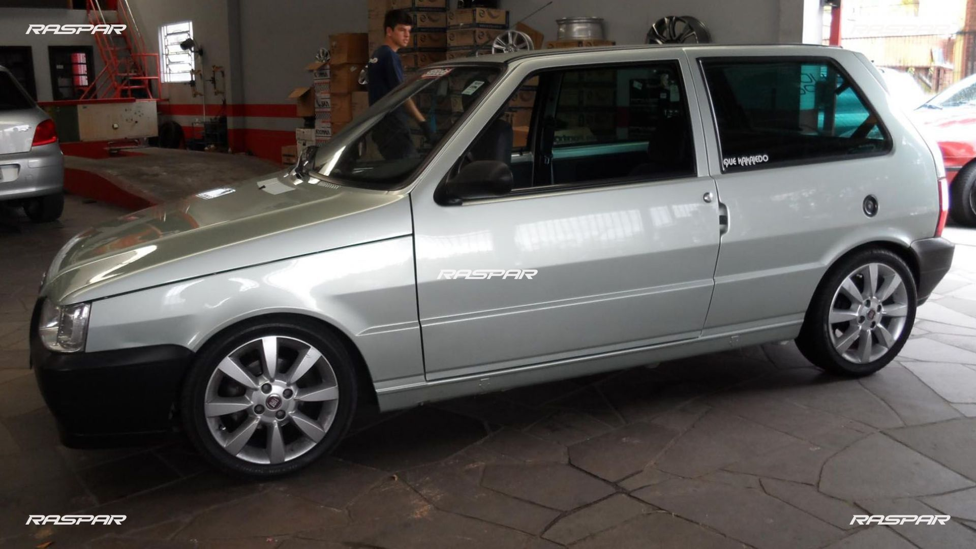 Uno   Rodas Aro 15 on fiat palio 2000