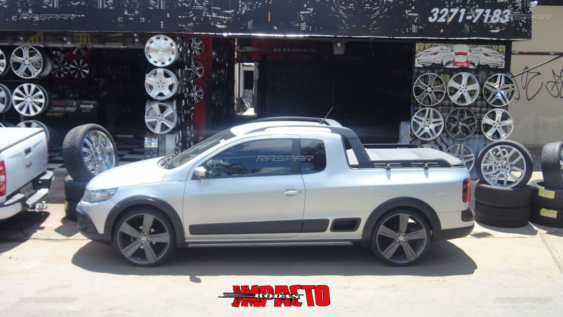 Saveiro Cross Com Rodas Aro 20